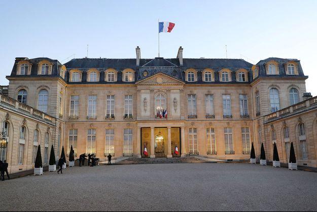 Le palais de l'Elysée, le 24 mars dernier.
