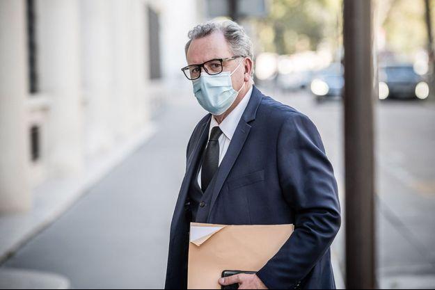 Richard Ferrandici fin octobre lors d'une réunion à Matignon.