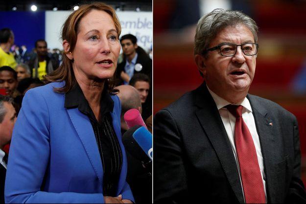 Ségolène Royal et Jean-Luc Mélenchon ont réagi à l'interview d'Emmanuel Macron fustigeant les discours politiques qui tentent, selon lui, de justifier la violence.