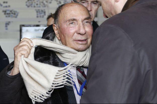 Le sénateur de l'Essonne Serge Dassault.