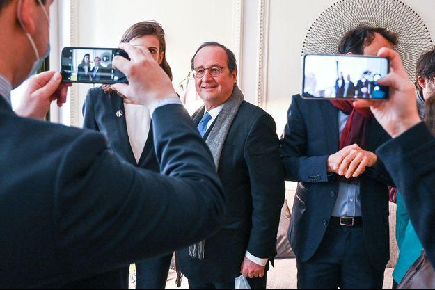 François Hollande à Lyon mardi dernier.