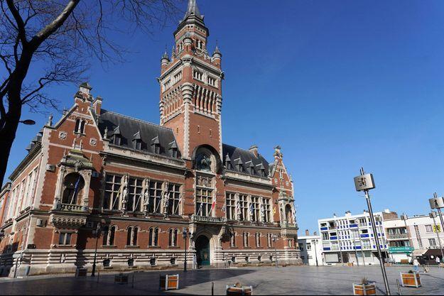L'hôtel de ville de Dunkerque, samedi 27 février.