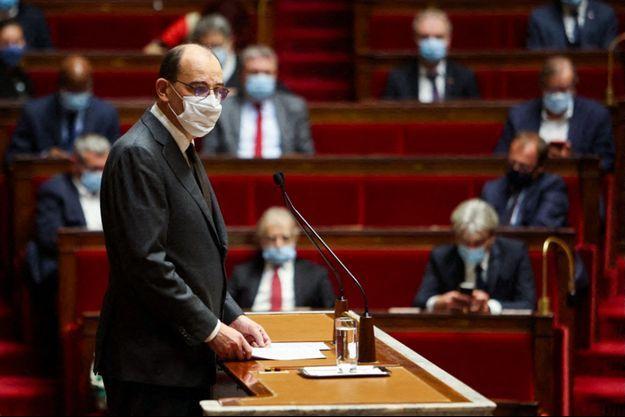 Jean Castex à l'Assemblée nationale, jeudi.