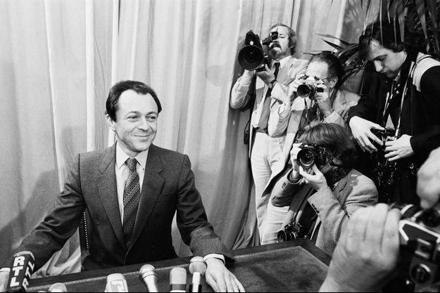 Le 21 octobre 1980, Michel Rocard a annonce depuis sa mairie de Conflans-Sainte-Honorine, sa candidature a la présidence de la République.