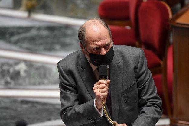 Eric Dupond-Moretti à l'Assemblée nationale, le 8 décembre 2020.