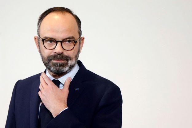 Le Premier ministre Edouard Philippe jeudi à Paris.