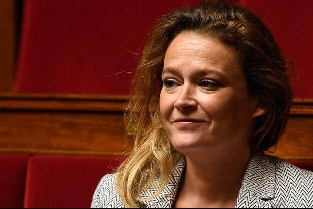 La députée LREM Olivia Grégoire, ici à l'Assemblée en mai 2018.