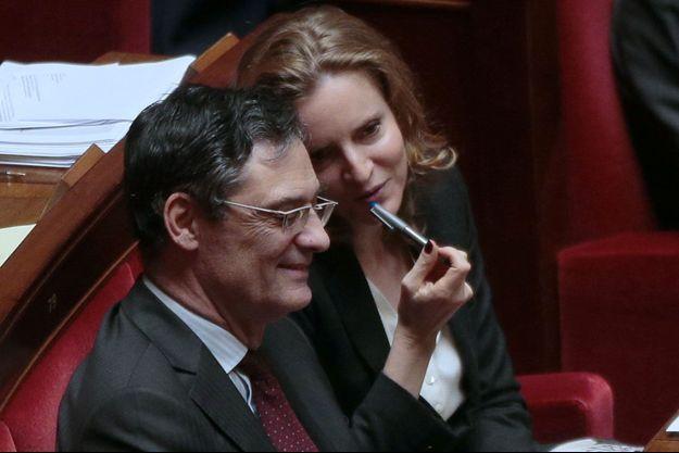 Patrick Devedjian et Nathalie Kosciusko-Morizet à l'Assemblée nationale en octobre 2015.