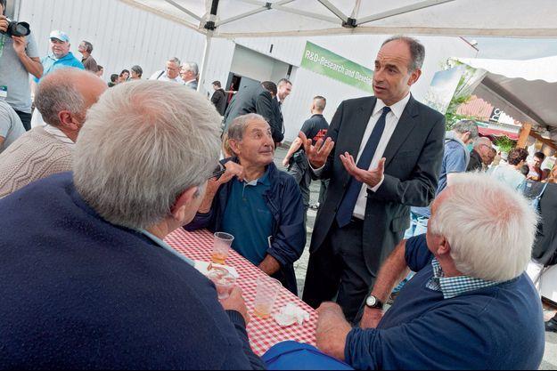 Jean-François Copé au Salon de l'élevage, à Rennes, le 14 septembre.