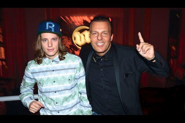 DJ Mosey, alias Pierre Sarkozy, et Jean Roch.
