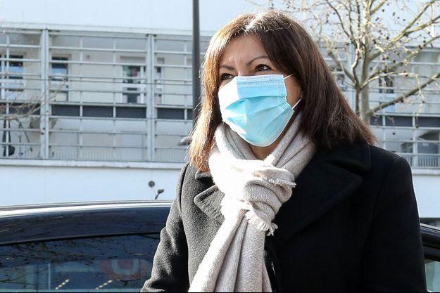 Anne Hidalgo le 19 mars 2021 à Paris