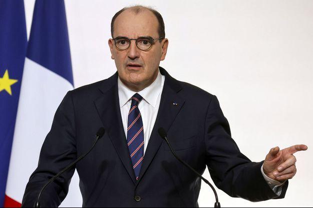 Jean Castex, le 7 janvier lors d'une conférence de presse.