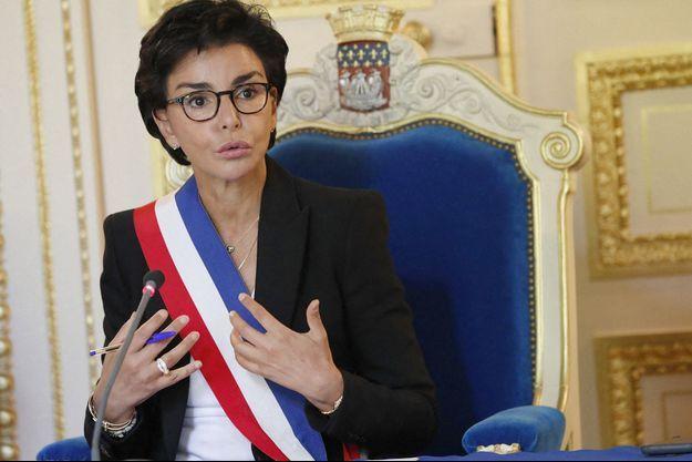 Rachida Dati ici en juillet dernier à la mairie du VIIe arrondissement de Paris.