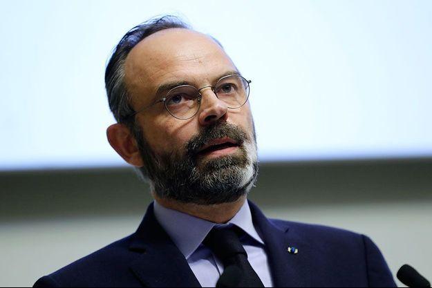 Edouard Philippe, ici le 14 mars 2020, quelques jours avant le confinement de la France.
