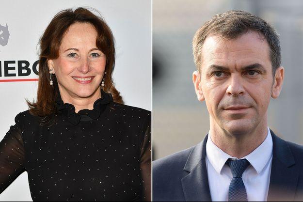 Ségolène Royal et Olivier Véran (montage)