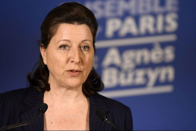 Agnès Buzyn, dimanche lors de son discours après les résultats du premier tour.