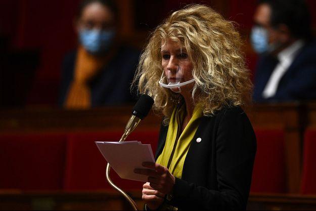 La députée du Bas-Rhin et ex-LREM Martine Wonner, le 20 octobre à l'Assemblée nationale.