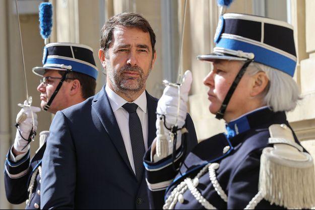 Christophe Castaner, au ministère de l'Intérieur mi-mars.