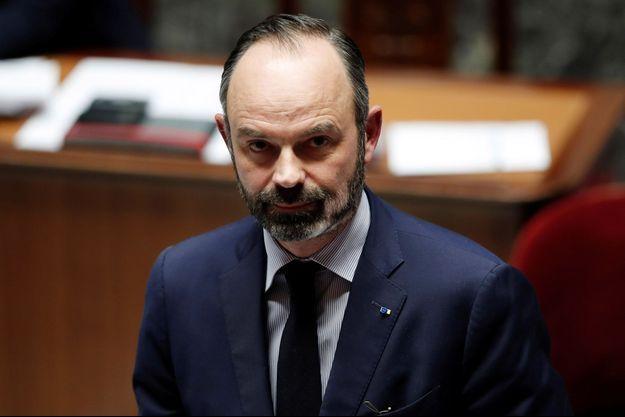 Edouard Philippe, début mars à l'Assemblée.