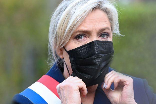 Marine Le Pen ici à Henin-Beaumont le 11 novembre.