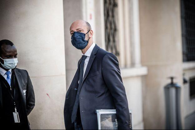 Stanislas Guerini, le numéro un de LREM, le 21 octobre à Paris.