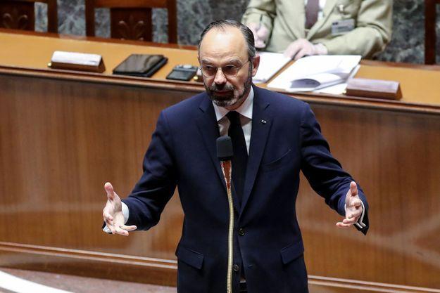 Edouard Philippe le 21 mars 2020.