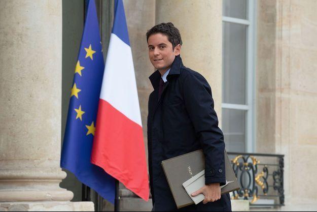 Gabriel Attal, en janvier à l'Elysée.