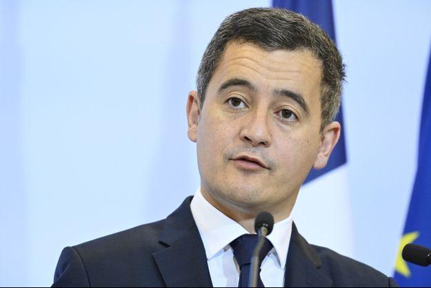 Gérald Darmanin, le 16 décembre lors d'une conférence de presse, à Paris.