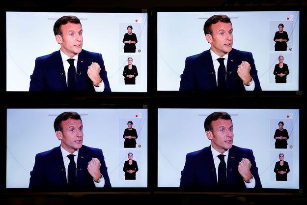Emmanuel Macron s'est exprimé mercredi soir sur la crise sanitaire liée au Covid-19.