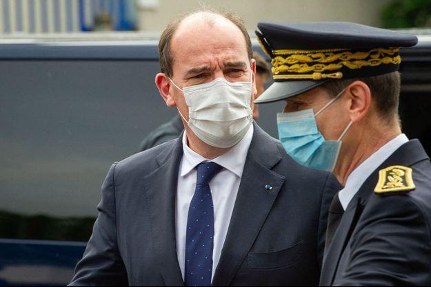Jean Castex, ici lors d'un déplacement à Villetaneuse, le 27 juillet.