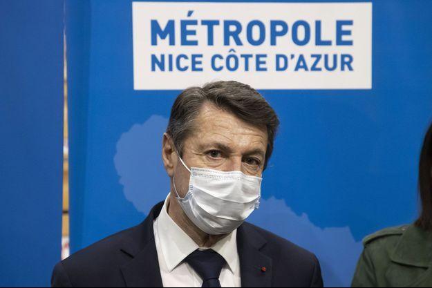 Christian Estrosi, ici à Nice jeudi