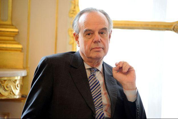 Frédéric Mitterrand en 2012.