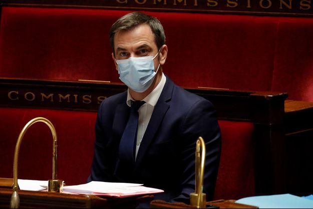 Olivier Véran mi-décembre à l'Assemblée nationale.