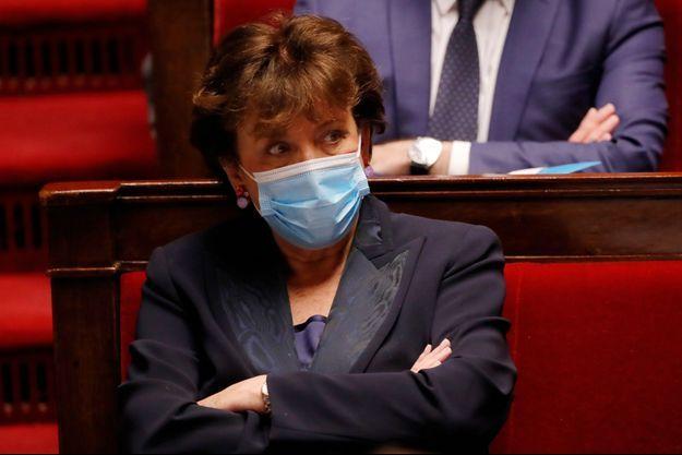 Roselyne Bachelot le 4 mai à l'Assemblée nationale.