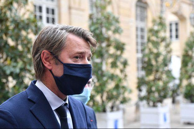 François Baroin, ici à Matignon en septembre.