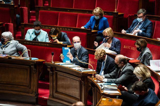 Jean Castex à l'Assemblée nationale.