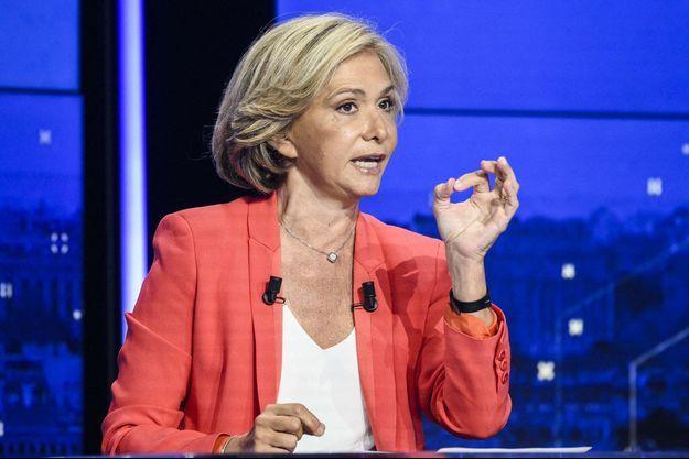 Valérie Pécresse, jeudi lors d'un débat de l'entre-deux-tours.