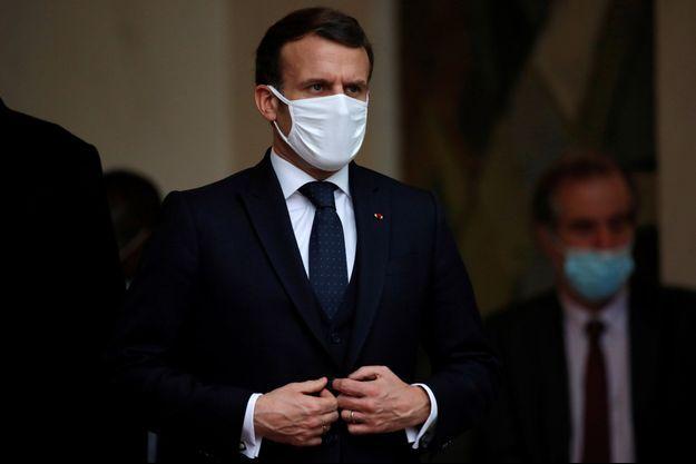 Emmanuel Macron à l'Elysée la semaine dernière.