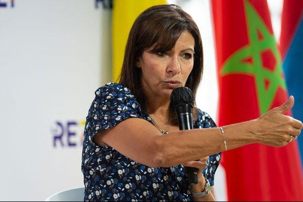 Anne Hidalgo la semaine dernière à l'occasion de la Rencontre des entrepreneurs de France du Medef.
