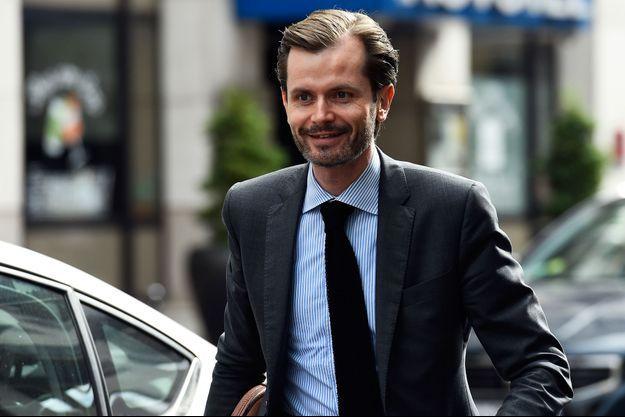 Guillaume Larrivé, ici à Paris en juillet 2017.