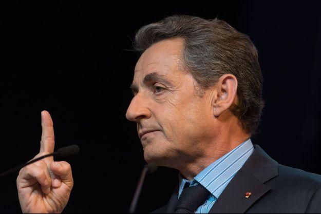 Nicolas Sarkozy en juin dernier.