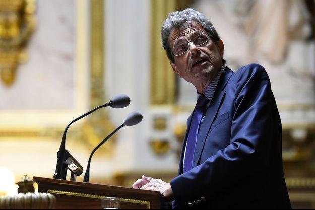 Le sénateur Alain Milon au palais du Luxembourg, en juin 2016.