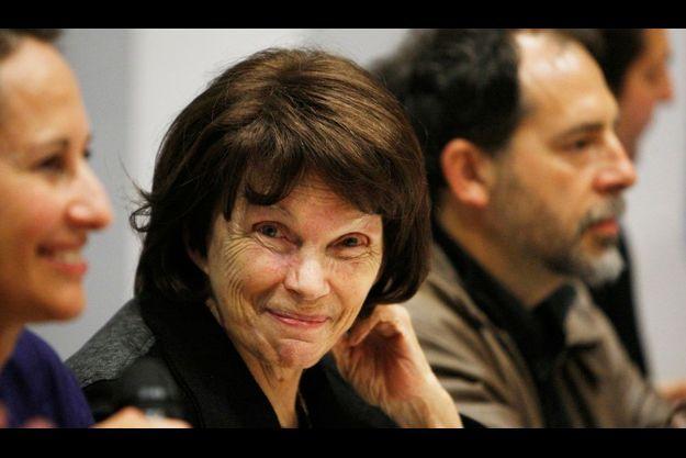 Danielle Mitterrand, en 2009, à Poitiers.