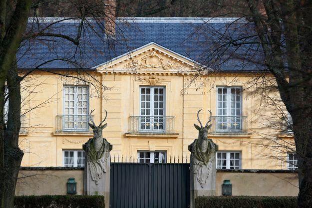 le Pavillon de la Lanterne (Yvelines) jusque-là réservé au Premier ministre et annexé par Nicolas Sarkozy.