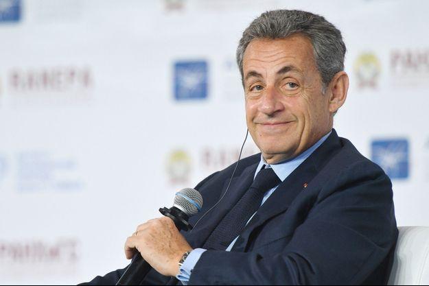 Nicolas Sarkozy ici lors d'un forum en janvier à Moscou.