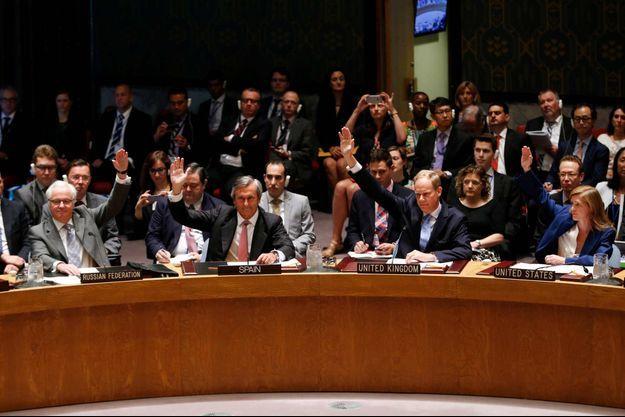 Le conseil de sécurité des Nations unies, en juillet 2015.