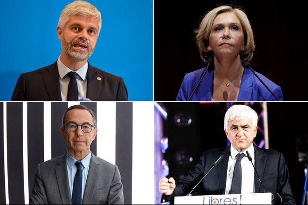 Laurent Wauquiez, Valérie Pécresse , Bruno Retailleau et Hervé Morin ont signé lundi une tribune commune.