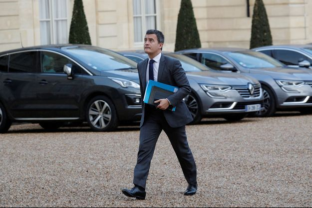 Le ministre de l'Action et des Comptes publics Gérald Darmanin, ici à l'Elysée le 10 décembre.