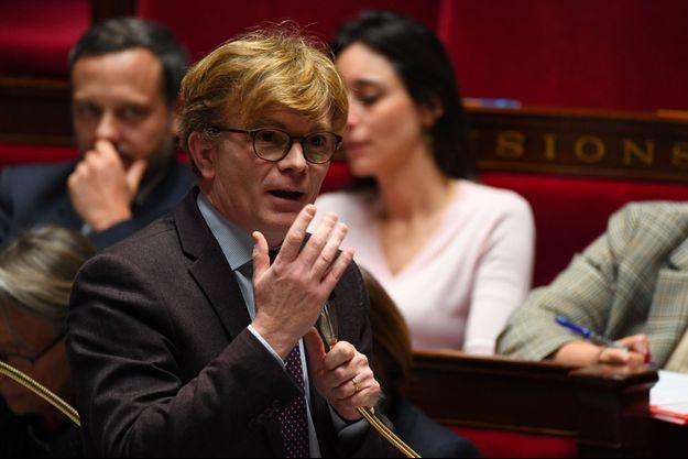 Marc Fesneau à l'Assemblée nationale, mercredi.