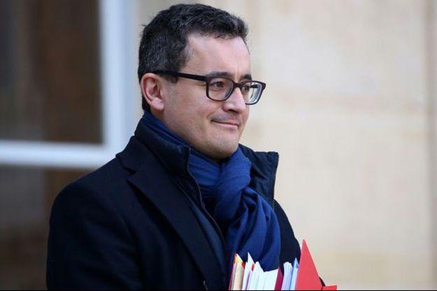 Le ministre des Comptes publics Gérald Darmanin, à l'Elysée en février.